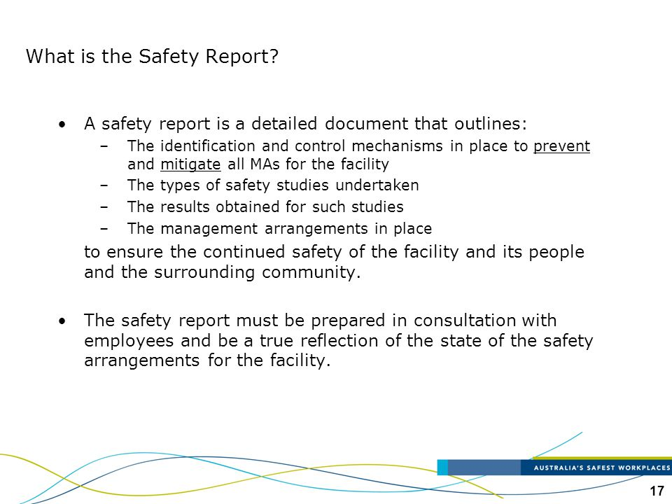 What is the Safety Report