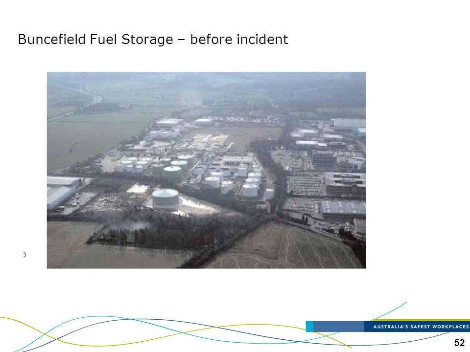 Buncefield Fuel Storage – before incident