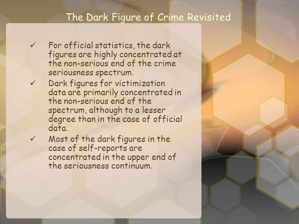 The Dark Figure of Crime Revisited