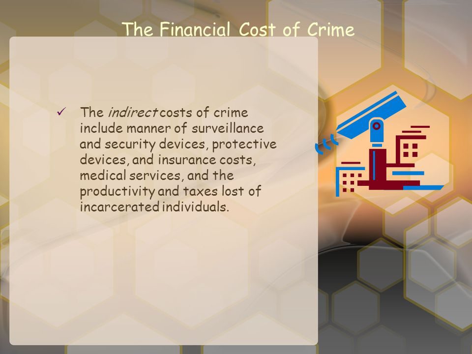 The Financial Cost of Crime