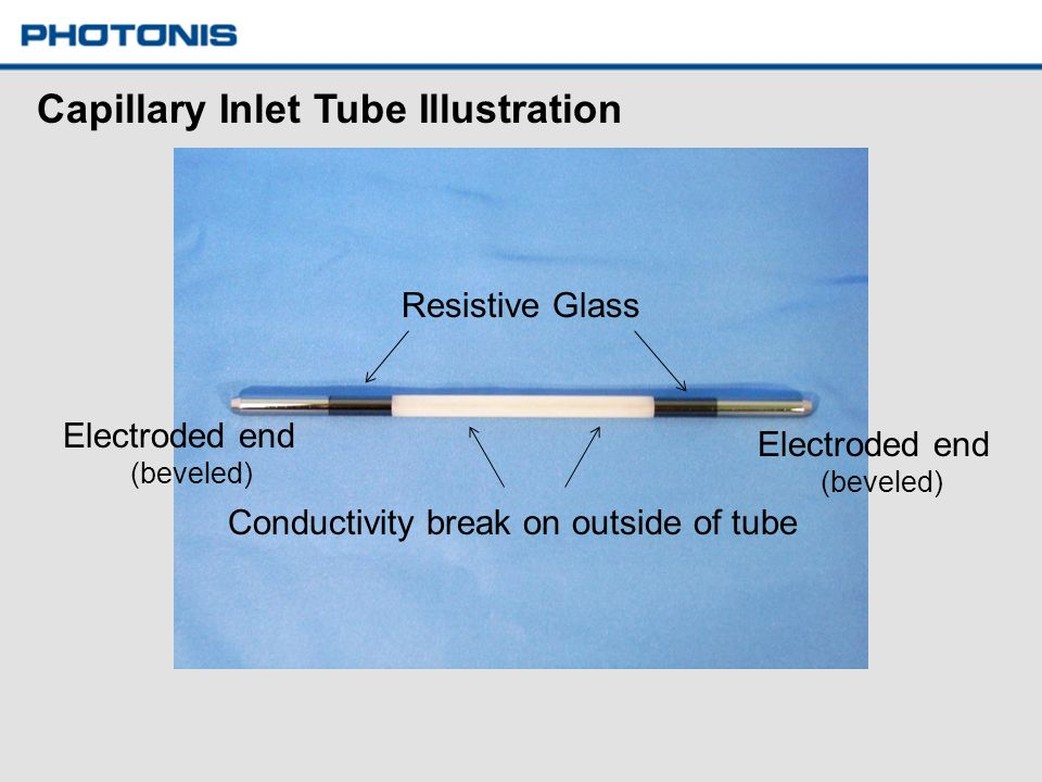 Capillary Inlet Tube Illustration