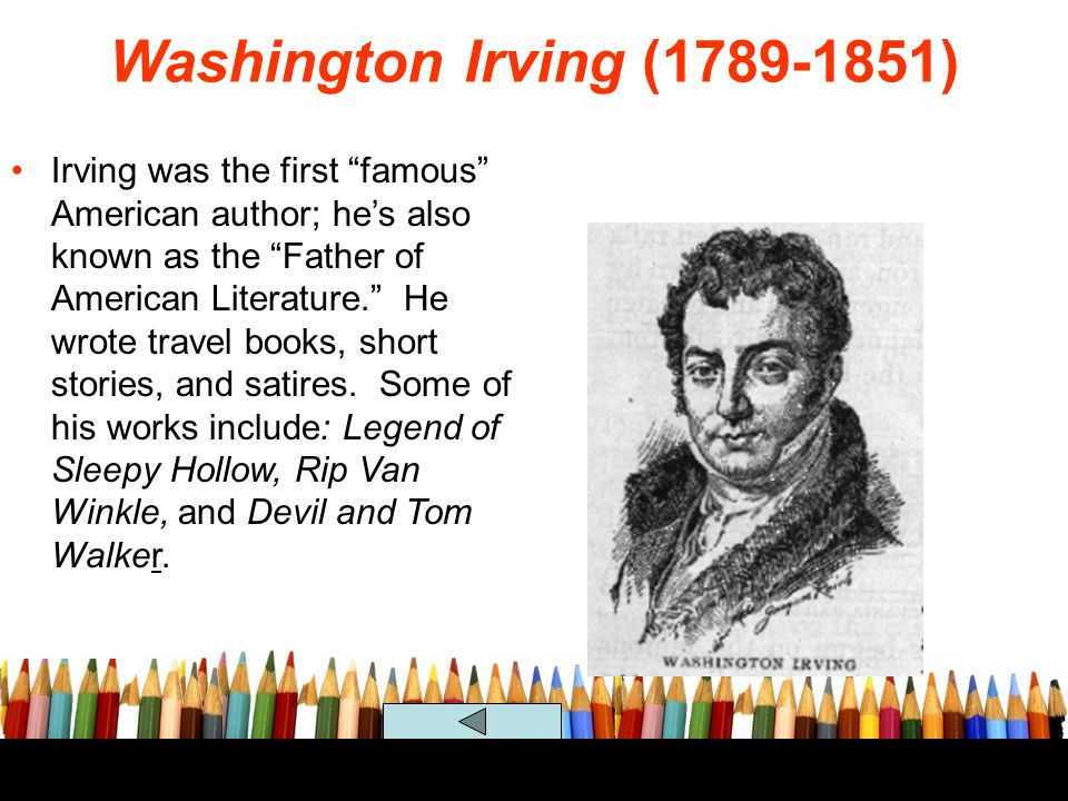 Washington Irving (1789-1851)