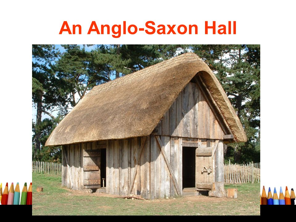 An Anglo-Saxon Hall West stow: a reconstructed site from 1972 by revising the post holse from the original site.