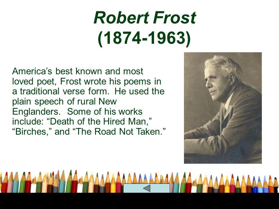 Robert Frost (1874-1963)