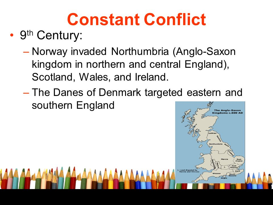 Constant Conflict 9th Century: