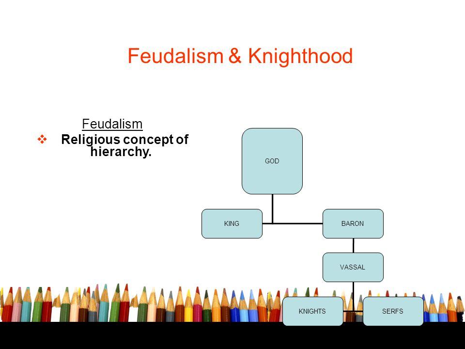Feudalism & Knighthood