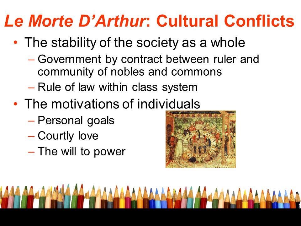 Le Morte D'Arthur: Cultural Conflicts