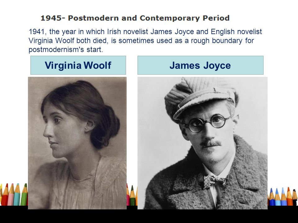 Virginia Woolf James Joyce