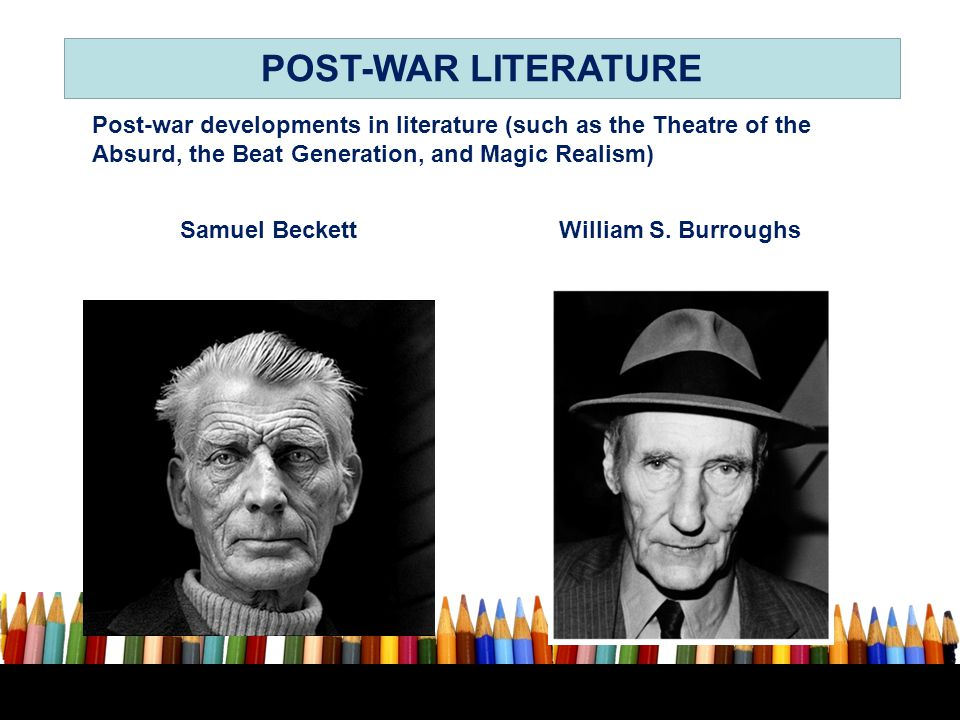 Samuel Beckett William S. Burroughs
