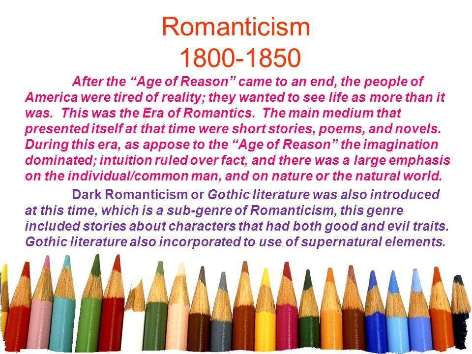 Romanticism 1800-1850