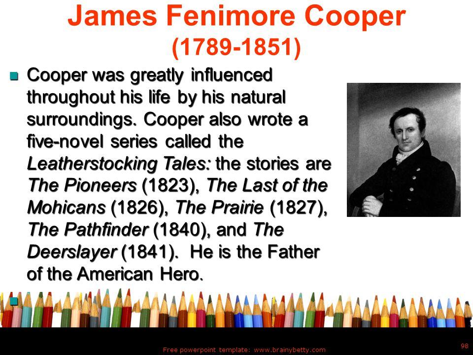 James Fenimore Cooper (1789-1851)