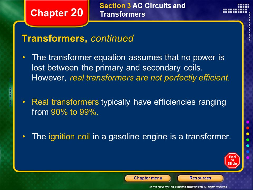 Transformers, continued