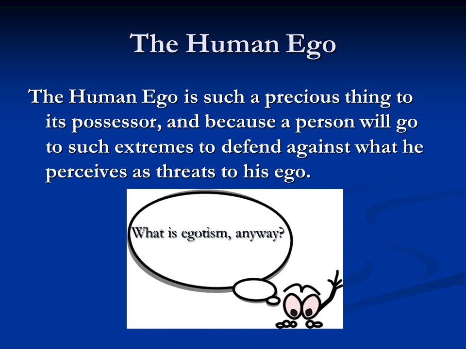 The Human Ego