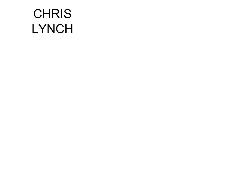 CHRIS LYNCH