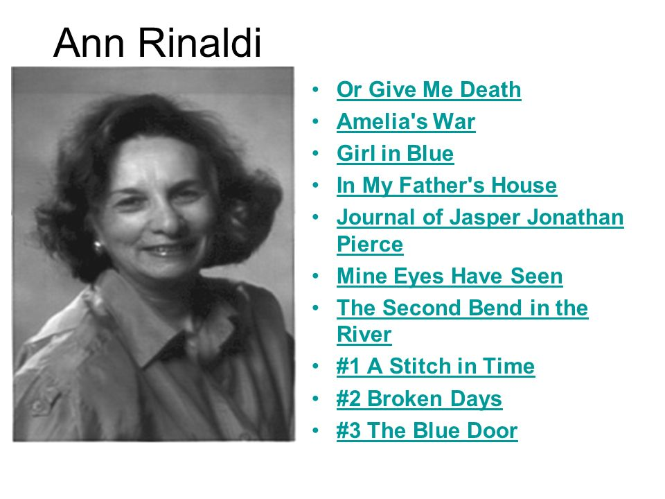 Ann Rinaldi Or Give Me Death Amelia s War Girl in Blue