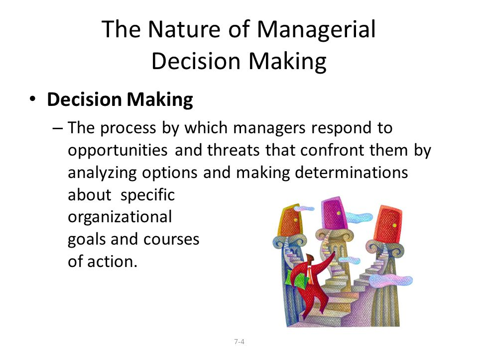 The Nature of Managerial Decision Making