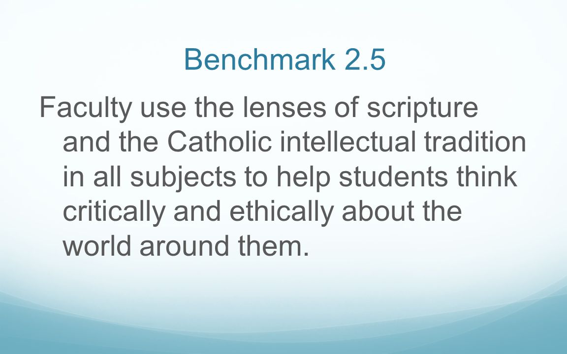 Benchmark 2.5