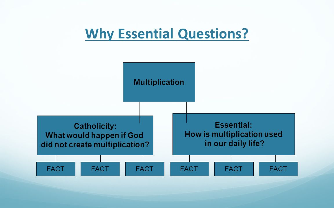 Why Essential Questions