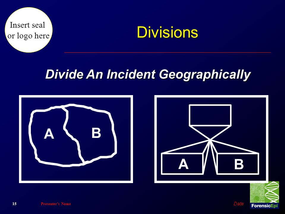 Divide An Incident Geographically