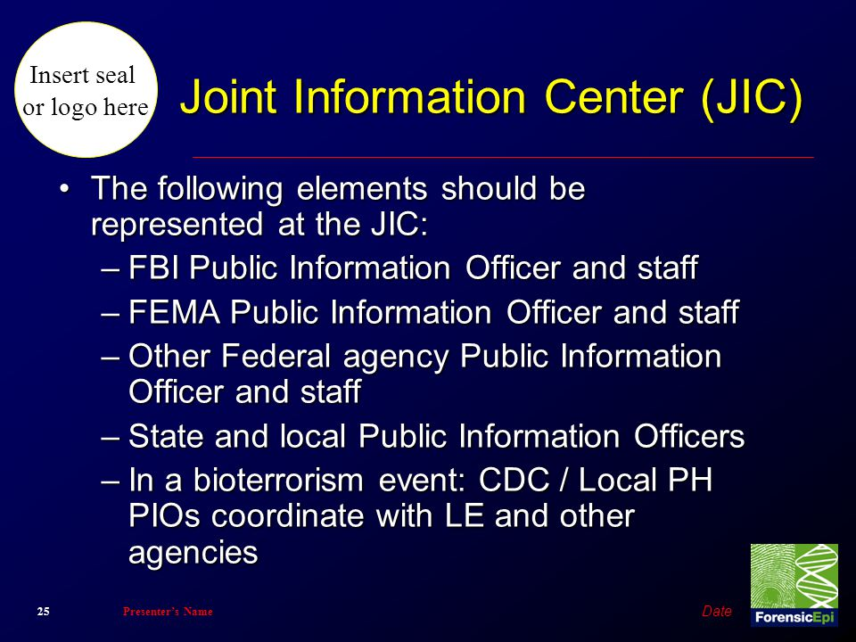 Joint Information Center (JIC)