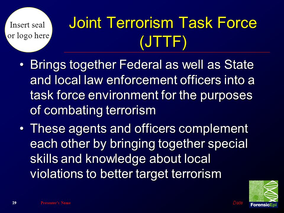 Joint Terrorism Task Force (JTTF)