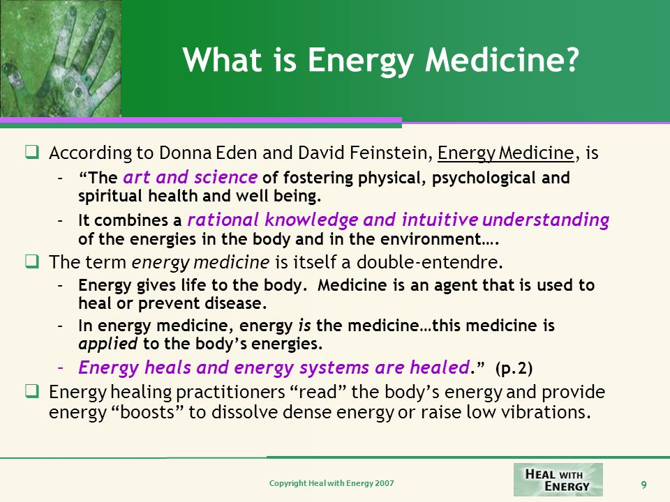 What is Energy Medicine