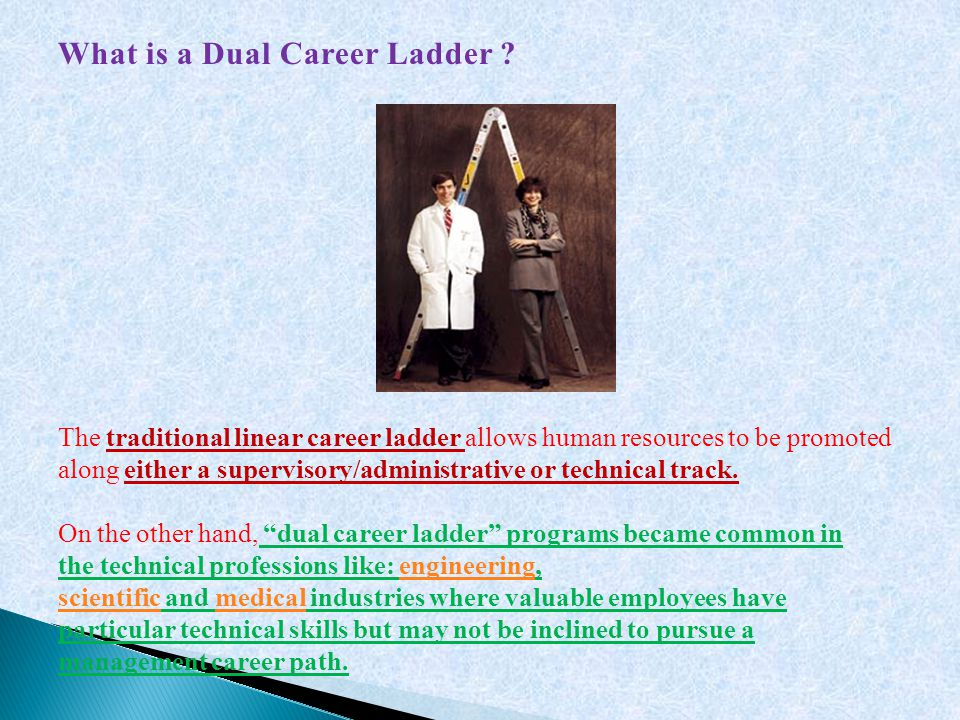 What is a Dual Career Ladder