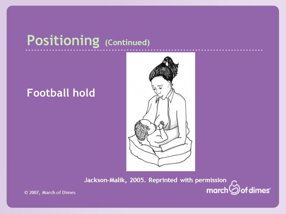 Positioning (Continued)