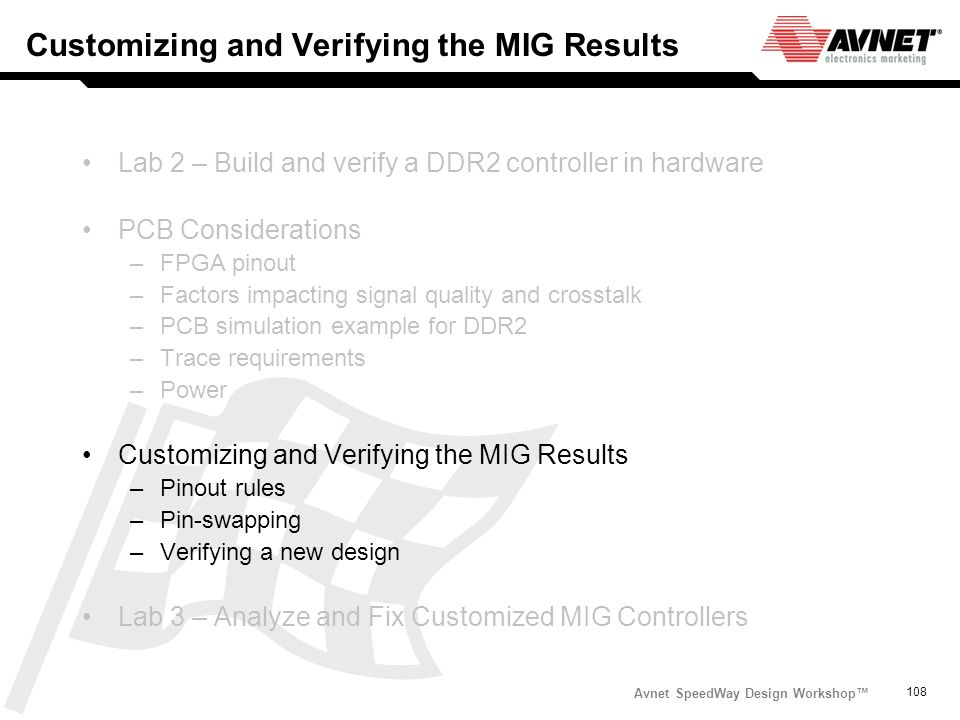 Customizing and Verifying the MIG Results