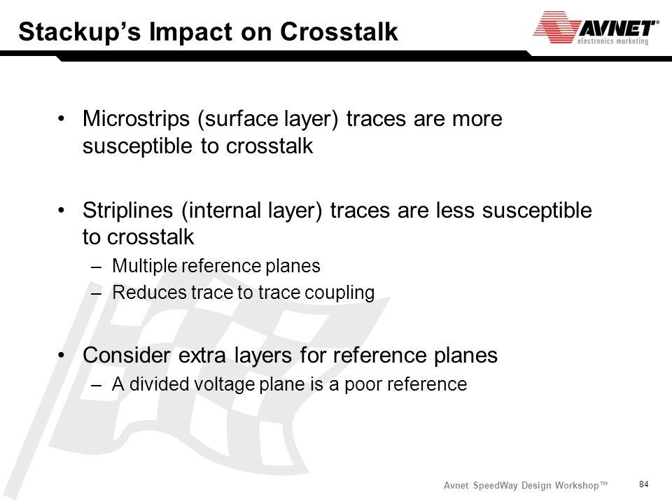 Stackup's Impact on Crosstalk