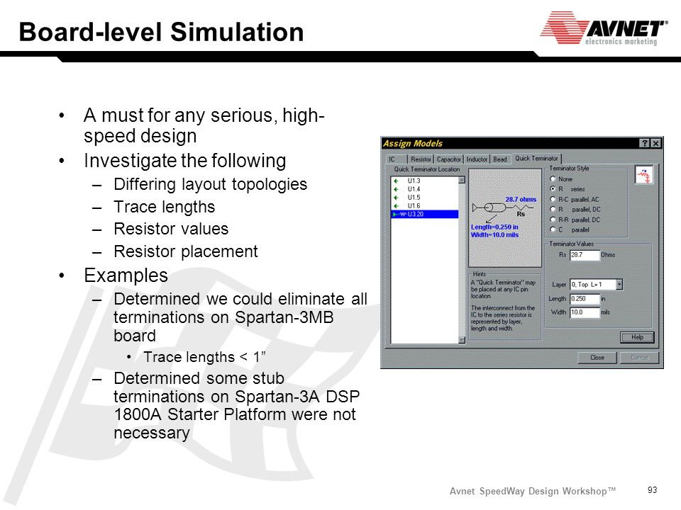 Board-level Simulation