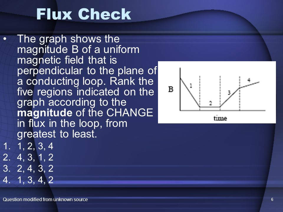 Flux Check
