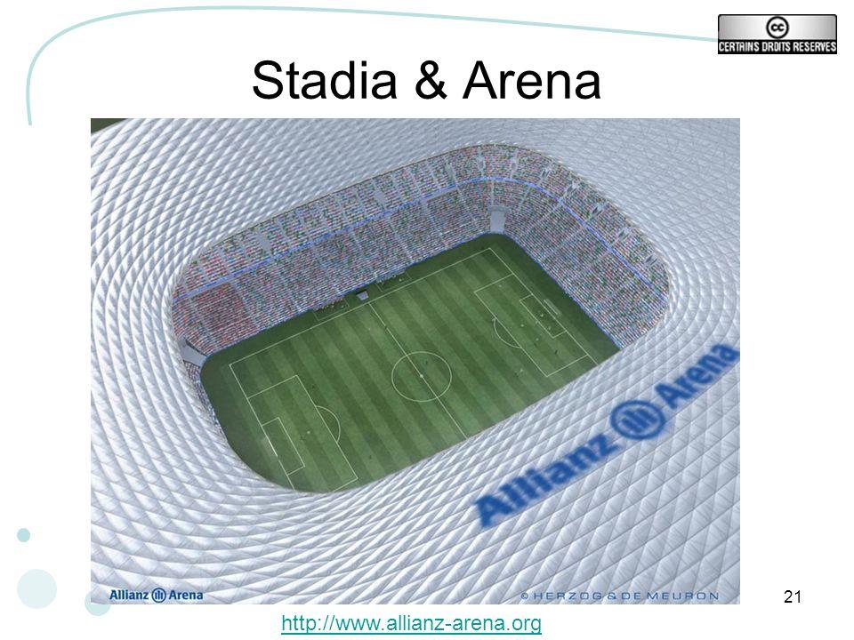 Stadia & Arena http://www.allianz-arena.org