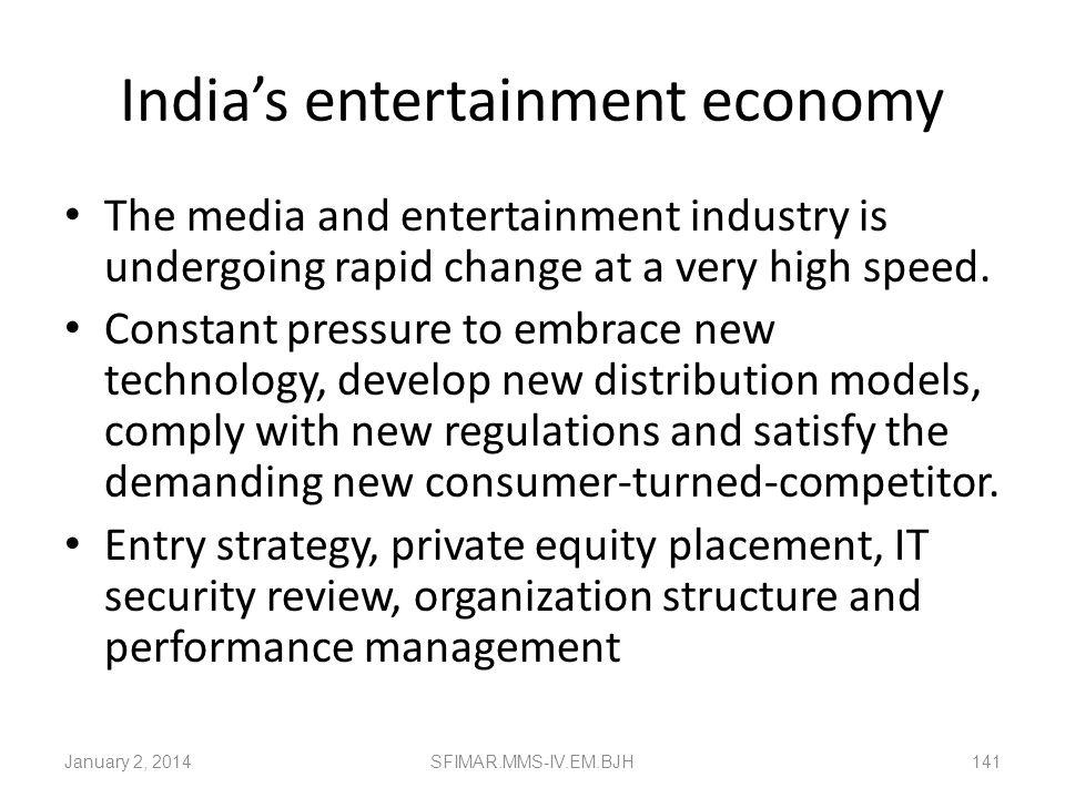 India's entertainment economy