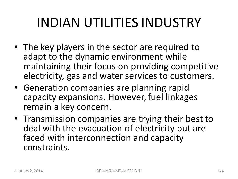 INDIAN UTILITIES INDUSTRY