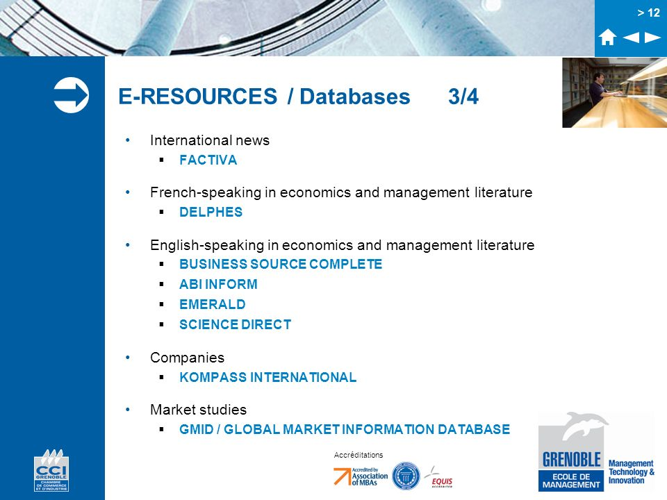 E-RESOURCES / Databases 3/4