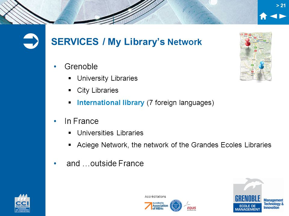 SERVICES / My Library's Network