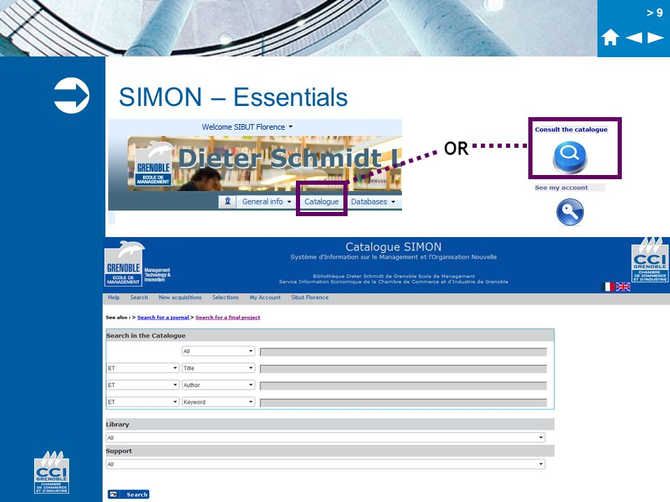 SIMON – Essentials OR