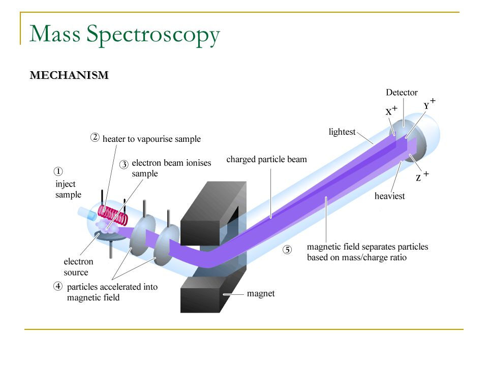 Mass Spectroscopy MECHANISM