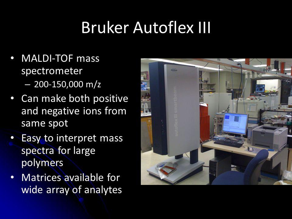 Bruker Autoflex III MALDI-TOF mass spectrometer