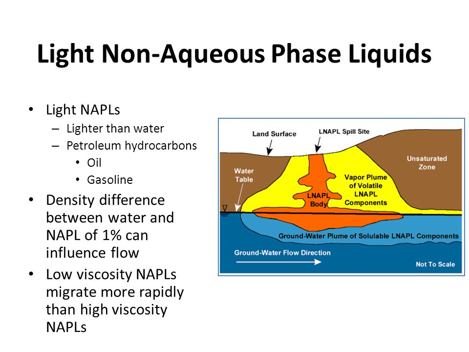 Light Non-Aqueous Phase Liquids