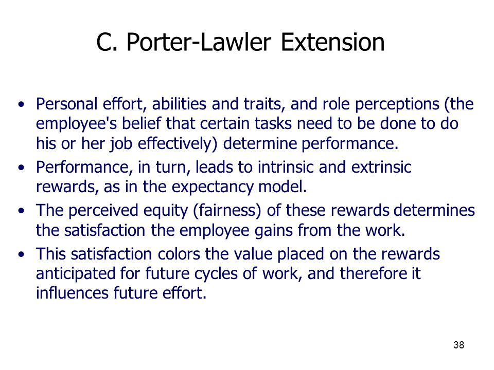 C. Porter-Lawler Extension