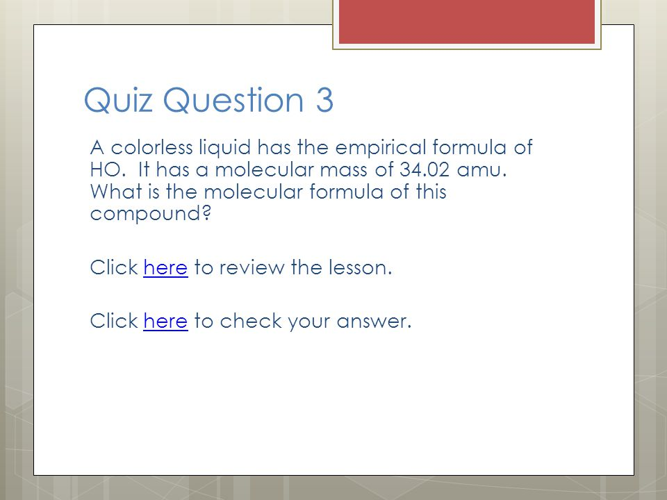 Quiz Question 3
