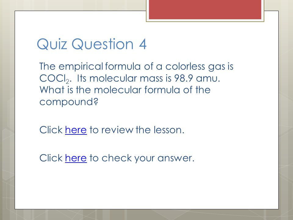 Quiz Question 4