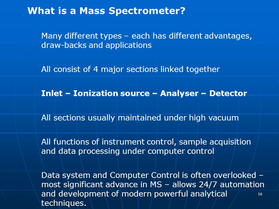 What is a Mass Spectrometer