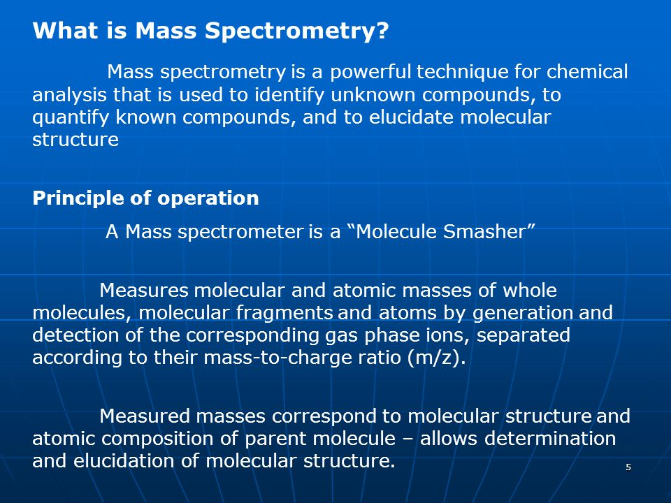 What is Mass Spectrometry