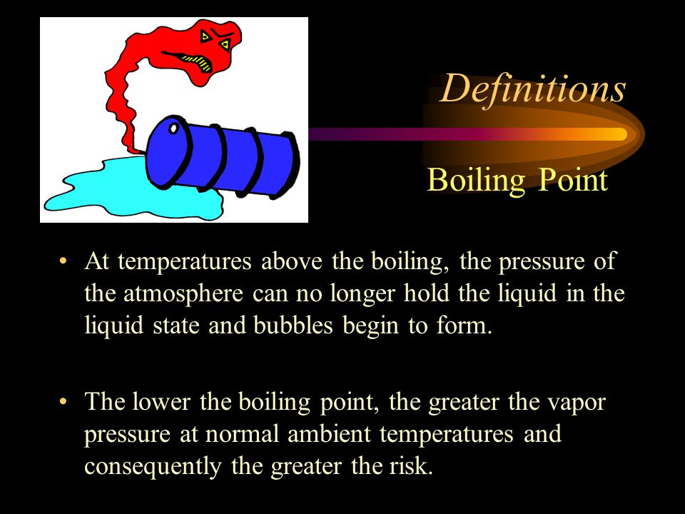 Definitions Boiling Point