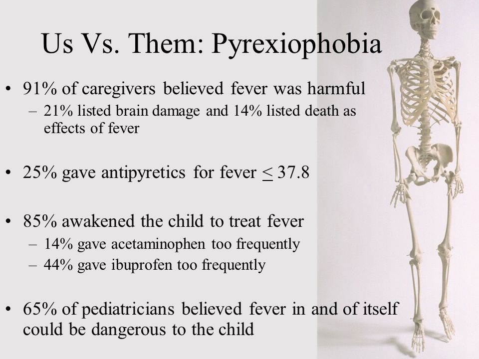Us Vs. Them: Pyrexiophobia