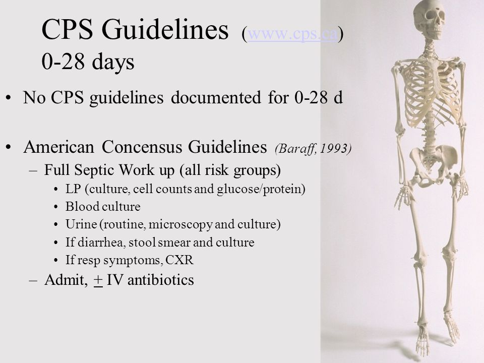 CPS Guidelines ( days