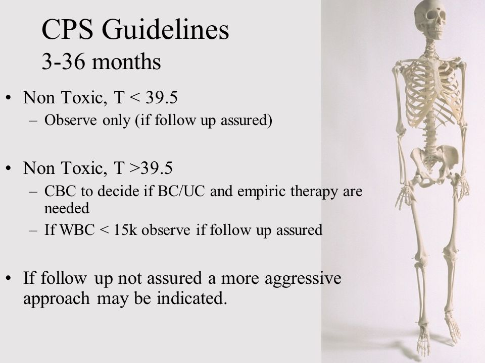 CPS Guidelines 3-36 months